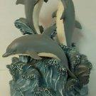 Westland 3 Dolphin Musical Figurine
