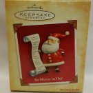 Hallmark Keepsake Ornament SO MUCH TO DO jp