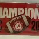 Alabama Crimson Tide 2014 SEC Football Champions License Plate