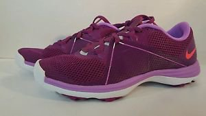 Nike Women's Summer Lite II Golf Shoes NEW Womens size 7, BAD BERRY,HT LVFCHS WH