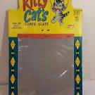 SUPER SLATE FUN MAGIC SLATE 1961 KITTY CATS no pen