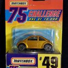 Matchbox  75 Challenge Collection #49 VW Concept 1