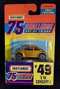Matchbox  75 Challenge Collection #49 VW Concept 1