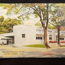 VINTAGE  POSTCARD THE GREYHOUND BUS STATION DOTHAN ALABAMA