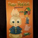 DELL CHILDREN'S PUNCHOUT PETER RABBIT 1962