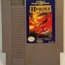 DUNGEONS AND DRAGONS HERO OF THE LANCE NES NINTENDO ENTERTAINMENT SYSTEM