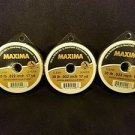 Maxima Clear 30 lbs 27yds Leader Material Fishing Line 3 PACK