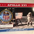 OFFICIAL NASA EMBLEMS OF AMERICA'S GREAT SPACE MISSIONS  Apollo Xvi
