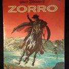 Vintage 1958 Walt Disney's ZORRO A Golden Book