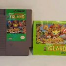 ADVENTURE ISLAND with manual NES NINTENDO ENTERTAINMENT SYSTEM
