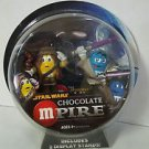 Star Wars M&M Chocolate Mpire CHEWBACCA/MACE WINDU Action Figures New MOSC