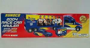 2004 Sunoco Race Car Hauler Toy Truck NEW In Box 11th in series