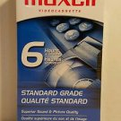 Maxell GX-Silver T-120 Blank VHS Video Tape Sealed