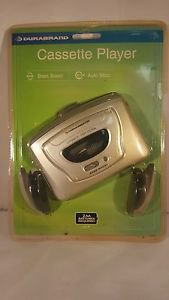 NEW Durabrand 820M Personal Cassette Tape Player w/ Headphones