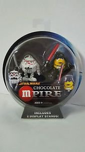 Star Wars M&M Chocolate Mpire DARTH VADER/CLONE TROOPER Action Figures New MOSC