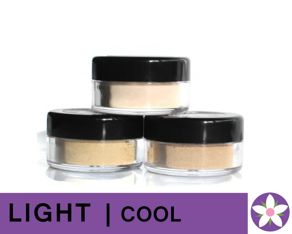 LIGHT Cool Color Mineral Foundation Powder in Matte Finish