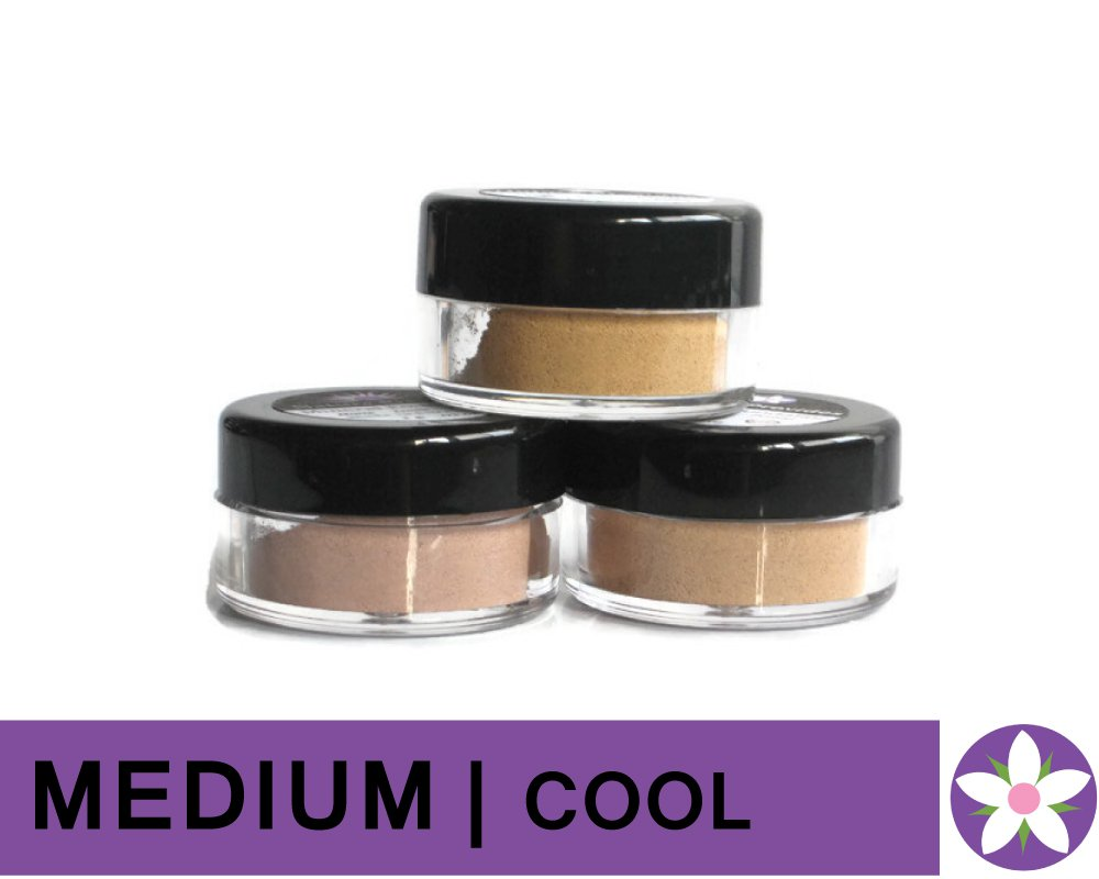 MEDIUM Cool Color Mineral Foundation Powder in Matte Finish
