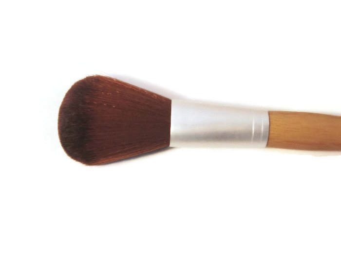 Foundation Powder Brush Vegan for Makeup Mineral Long Handle eco Friendly Bamboo