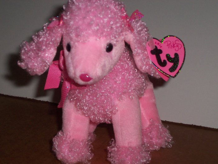 Pinkie Poo the Poodle TY