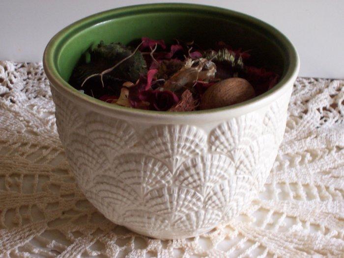 Haeger Seashell Flower Pot