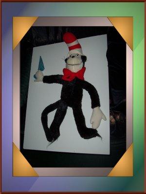 Dr. Seuss Cat in the Hat Stuffed Doll