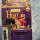 Pinocchio - 2 classic books with studio cassette player