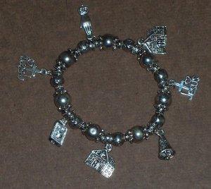 Silver I Love Jesus Bracelet