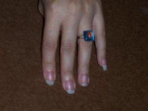 Handmade What Ring