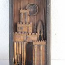 Louise Nevelson (American, 1899–1988) Painted wood construction Sculpture 1956