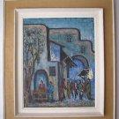 Adler Israeli artist, marvelous oil on canvas