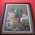 Israeli Artist, Marvelous Oil on Canvas Painting