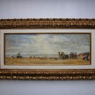 Eugène Louis Boudin  (French, 1824-1898) oil on canvas
