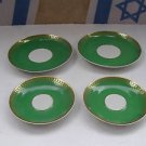 Lot of 4 Vintage Marvelous Favolina Polish Ceramic Porcelain Plates