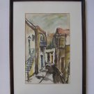 Jehuda Rodan (Israel, 1916 - 1985) watercolor on paper
