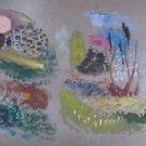 Israel Paldi (Israeli, 1892–1979) oil on cardboard