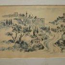 Dan Livni b-1936 Israeli Artist Marvelous Print 1967