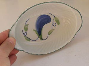 Marvelous Israel Naaman, Ceramic Porcelain Bowl / Dish