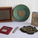 Lot of 6 Vintage Marvelous Israel Israeliana Different Items