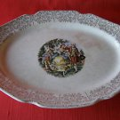 Stunning Vintage S Warranted 22K Gold Serving Plate