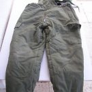 1989 Israel IDF Army Zahal Extreme Cold Weather Soldier Overall Snowsuit Pants