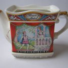 "Vintage Staffordshire England Porcelain ""Romeo and Juliet "" Teapot"