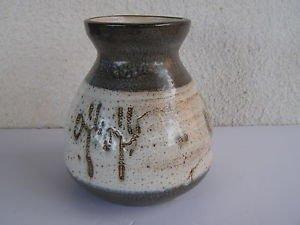 3400gr Vintage Marvelous HARSA Hand Painted Ceramic Large Vase Israel 1950s