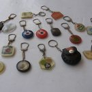 Vintage Marvelous Lot of 16 unusual Israel Keychains