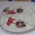 Vintage Marvelous Israel Hand Painted Kadar Ceramic Plate 1950's, 60's