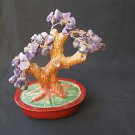 Marvelous amethyst natural gem stone tree