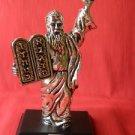 925 Silver & 14k Gold Plated Jewish Rabbi Figurine