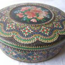 Stunning Holland Floral Tin Box, 1950's, 60's  WOW