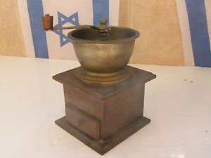 Marvelous Wooden Handled Coffee Grinder  W O W