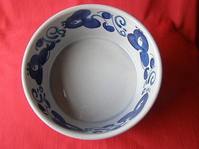 Lapid Hand Crafted Glazed Ceramic Art Bowl Israel 1950's