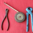 Lot of 3 Vintage Collectable Handle Tools